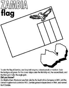 south africa flag coloring page Coloring Pinterest South