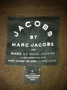 Marc Jacobs, you smartass.