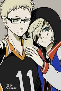 Tsuki y Yurio  #YOI