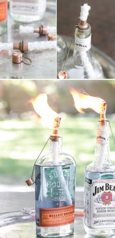 Tiki Torch Bottles