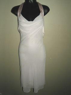ARMANI Exchange Evening Dress Halter Opal NWT 0