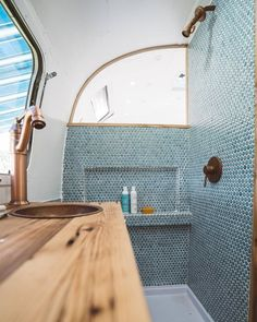 Gorgeous Airstream Renovation Tour Before And After Remodel (7)