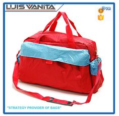 Check out this product on Alibaba.com App Stylish Red Polyester Cheap Travel Bag