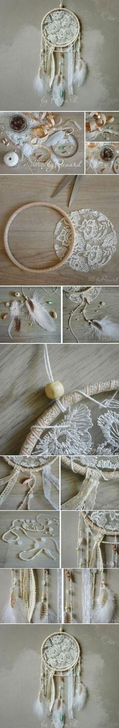 Check out the tutorial: #DIY Dream Catcher #crafts #homedecor