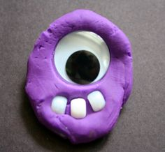 Play Dough Monsters. white pony (craft) beads (teeth) Googly Eyes (in assorted sizes) and bits of Pipe Cleaners yummy-smelling,homemade Kool-Aid Play Dough. These would be fun to make as a more permanent version with,salt-dough, Crayola's Model Magic or Sculpey's Pluffy Clay.