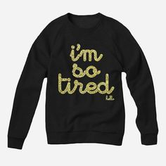 Tired Sweater glitter | Lily -- Love This!