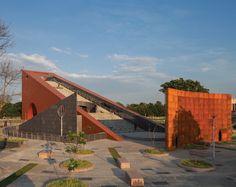 archohm's JPN museum is a vital component of the JPN monument acting as a gateway to the jai prakash narayan international center. Museum Architecture, Socialism, Creative Inspiration, India, Urban, Sculpture, Landscape, Park, Gallery