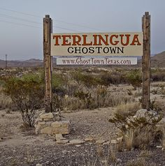 Terlingua Ghost Town by Steve_Gregory, via Flickr