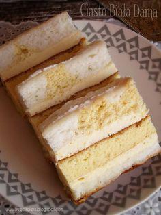 Lemon Cheesecake Recipes, Chocolate Cheesecake Recipes, Vegan Cheesecake, Polish Recipes, Polish Food, Sandwich Cake, Dessert Bars, Baked Goods, Good Food