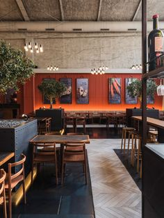 Spaces Places Billiani per i Restaurant & Bar Design Awards 2019 The secrets to improving kids' beha Orange Interior, Bar Interior, Restaurant Interior Design, Mexican Restaurant Design, Logo Restaurant, Bar Design Awards, Design Studio, Cafe Design, Design Design