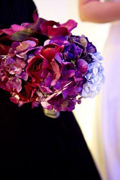 Blue and Purple Bouquet http://significanteventsoftexas.com/