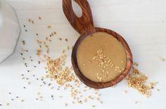 Cinnamon Tahini Protein Smoothie