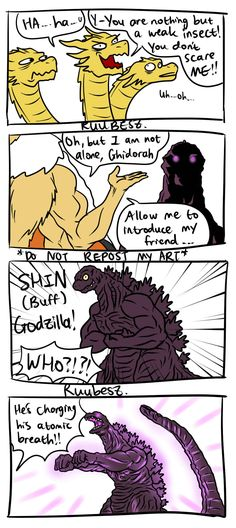 Godzilla Vs Gigan, Godzilla Comics, All Godzilla Monsters, Tumblr, How To Introduce Yourself, Anime, Funny, Hero, Amazon