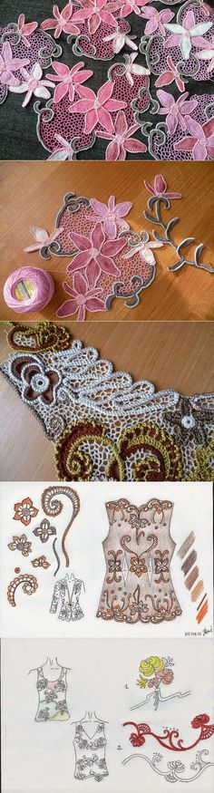 Irish crochet &: Иванна Дудочкина