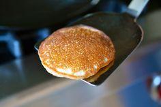 cinnamon & coconut pancakes.