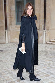 Carine Roitfeld Photos: Arrivals at the Schiaparelli Show