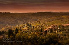 Somewhere in Tuscany by schwardt. Please Like http://fb.me/go4photos and Follow @go4fotos Thank You. :-)