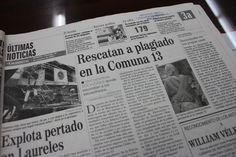 Las fuerzas militares ya estaban permanentemente en territorios de la Comuna 13. Tomada de El Colombiano del 20 de octubre del 2002.