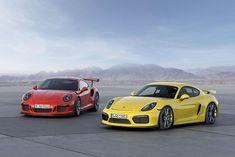 Porsche 911 GT3 RS 2015 – Baureihe 991 & Porsche Cayman GT4 2015 (Foto: Porsche)