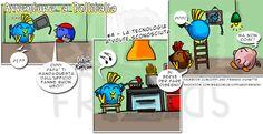 [#4] Avventure a Pollitalia – la tecnologia a volte sconosciuta