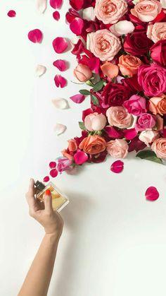 Flower perfumed