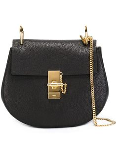Chloé Small Drew Shoulder Bag Black