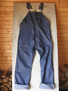 224e1433b8 Engineers overalls by Levi s Vintage Clothing. Shrink to fit Vintage Levis