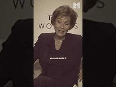 Judge Judy | There's Still Time! ❤️🔥 Best Motivational Speakers, Motivational Videos, Judge Judy, Dreaming Of You, Music, Youtube, Mens Tops, Musica, Musik