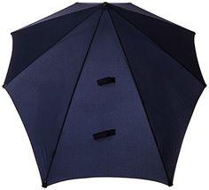 SENZ Regenschirm Original - Paraguas tradicional, color azul, talla M - http://comprarparaguas.com/baratos/de-colores/azul/senz-regenschirm-original-paraguas-tradicional-color-azul-talla-m/