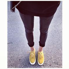 chloeruby: All black yellowing @eytys - @styleheroine