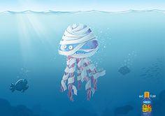 Ad : Safe Sea sting lotion - Mummy