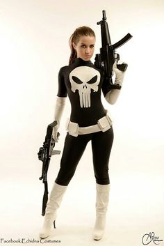 . #Punisher #Cosplay