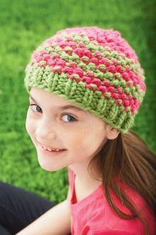 92d86c37c2e Stripey Hats (Knit) Easy Crochet Hat