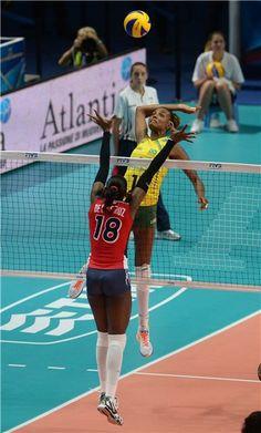 Match - Brazil-Dominican Republic - FIVB Volleyball Women's World Championship Italy 2014