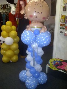 "For a ""Baby Boy"" baby shower"