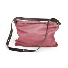 Discover an amazing range of products by cutting edge designers on Wolf & Badger online, the home of independent fashion, unique jewellery and much more. Pink Leather, Leather Bag, Drawstring Backpack, Diaper Bag, Lilac, Backpacks, Shoulder Bag, Unique Jewelry, Metal