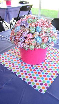 lollipop bouquet //Doc McStuffins Birthday Party Ideas // Catch My Party 14th Birthday, 4th Birthday Parties, Girl Birthday, Birthday Ideas, Birthday Recipes, Princess Birthday, Birthday Cake, Doc Mcstuffins Birthday Party, Doc Mcstuffins Party Ideas