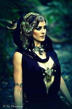 Darkness tribal headdress