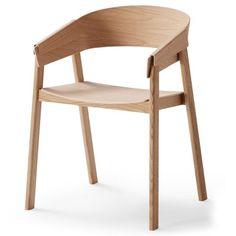 Muuto Cover stol, eik, 3400,-
