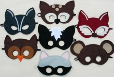 masken kinder passen katze bär lustig vielfalt