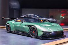 Aston Martin is known around the world as one of the premier luxury car makers. The Aston Martin Vulcan is a track-only supercar Bugatti, Maserati, Lamborghini, Ferrari, Aston Martin Lagonda, Aston Martin Vulcan, Car Best, Supercars, Porsche