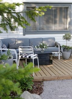 baraetthem: Tylko obiad na patio Outdoor Rooms, Outdoor Gardens, Outdoor Living, Outdoor Decor, Patio Gazebo, Backyard Landscaping, Pergola, Garden Furniture, Outdoor Furniture Sets