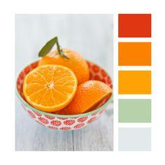 My Party design: Colour Palettes - Orange zest
