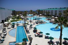 Port Royal, Port Aransas Texas.. Direct beach access 4 swimming pools and slides. My children's idea of heaven.