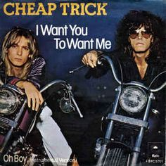cheap trick i want you to want me lyrics | Cheap Trick - I Want You To Want Me / Oh Boy (Vinyl) at ...