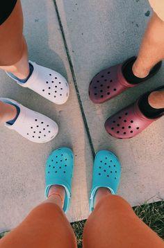 Women S Shoes Velcro Straps Crocs Shoes, On Shoes, Me Too Shoes, Cute Sandals, Cute Shoes, Shoes Sandals, Cool Crocs, Croc Charms, Shoes Wallpaper