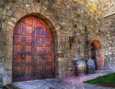 Castle Doors by stockerre, via Flickr