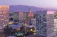 San Jose, CA…the dome is my church, the Basilica Cathedral of St Joseph.