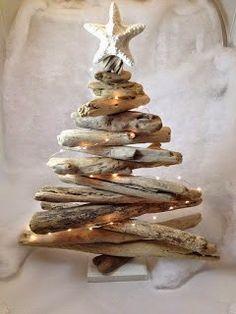 60+ Χριστουγεννιάτικες ΙΔΕΕΣ - ΚΑΤΑΣΚΕΥΕΣ με ΘΑΛΑΣΣΟΞΥΛΑ   ΣΟΥΛΟΥΠΩΣΕ ΤΟ