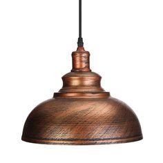 Vintage E27 Ceiling Light Pendant Retro Lamp Industrial Loft Iron Chandelier #LampIndustrial
